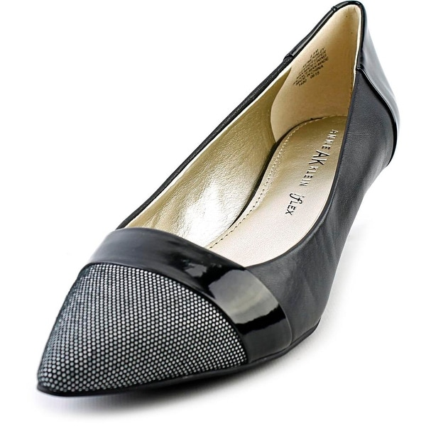 Anne Klein AK McKinley Pointed Toe Leather Heels