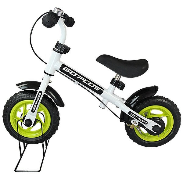 Goplus 10 Kids Balance Bike No Pedal Learn To Ride Pre Bike