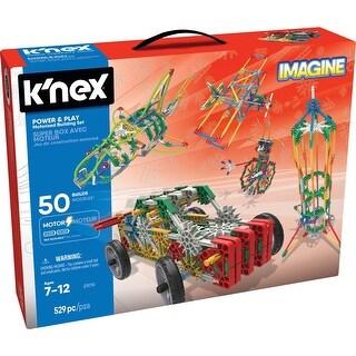 K'NEX 23012 Imagine Power & Play Motorized Building Set Toy, 529 Pieces