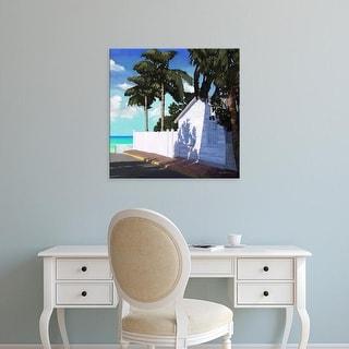 Easy Art Prints Rick Novak's 'Conch Republic V' Premium Canvas Art