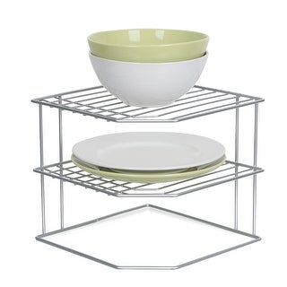 Tidy Living - Silver Corner Dish Rack