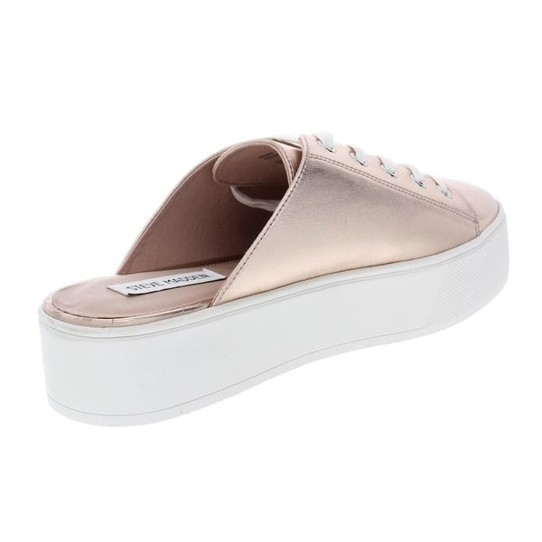 56eb86a2ce1 Shop Steve Madden Womens Frost Mules Leather Slip on - Free Shipping ...