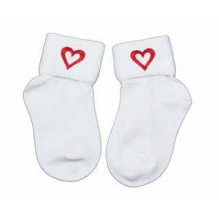 Sweetheart Socks say I Love You in Infant Boys Size