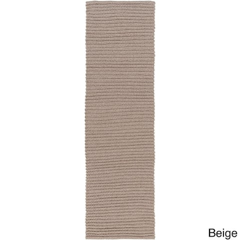 Hand-Woven Harwich Solid Area Rug