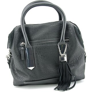 French Connection Camden Satchel Synthetic Satchel - Black