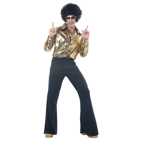 Mens Plus Size Disco King Halloween Costume - Big & Tall