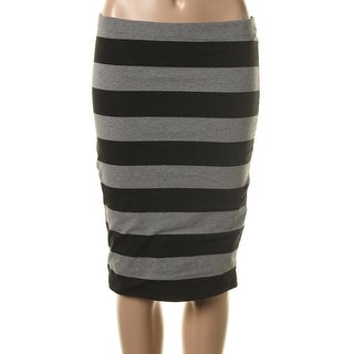 Zara W&B Collection Womens Pull On Knee Length Pencil Skirt - M