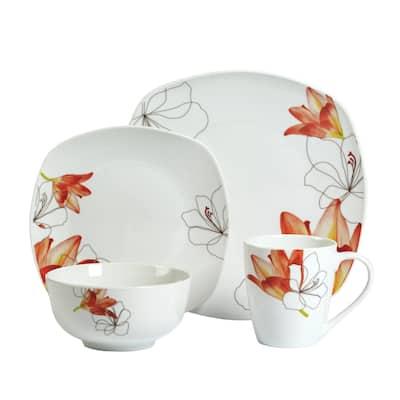 16pc Dinnerware Set - Lily