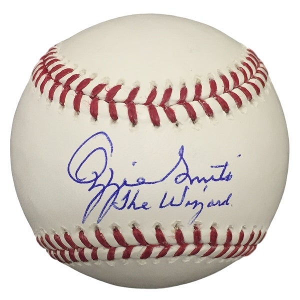 Ozzie Smith St. Louis Cardinals Signed Rawlings Baseball The Wizard PSA
