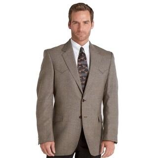 Circle S Jacket Mens Plano Sportcoat Genuine Wool Lambs Wool CC1032