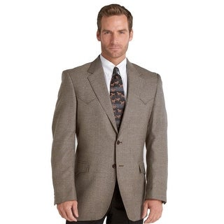 Circle S Jacket Mens Plano Sportcoat Genuine Wool Lambs Wool CC1032