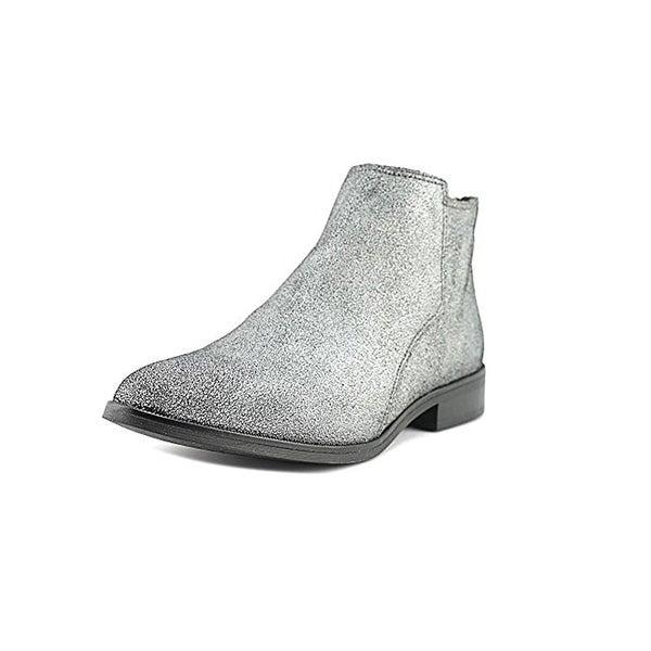 Design Lab Womens Cory Booties Block Heel Ankle