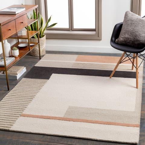 Studio Modern Handmade Wool Area Rug