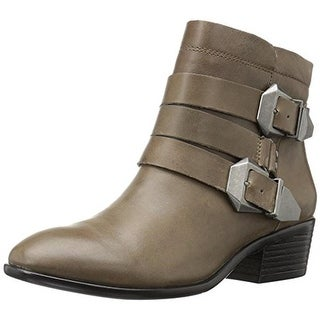 Aerosoles Womens My Time Ankle Boots Leather Belted