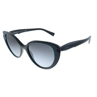 Link to Tiffany & Co.  TF 4163 82793C Womens Crystal Blue on Black Frame Grey Gradient Lens Sunglasses Similar Items in Women's Sunglasses