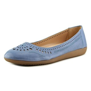 Naturalizer Kana Women N/S Round Toe Leather Flats