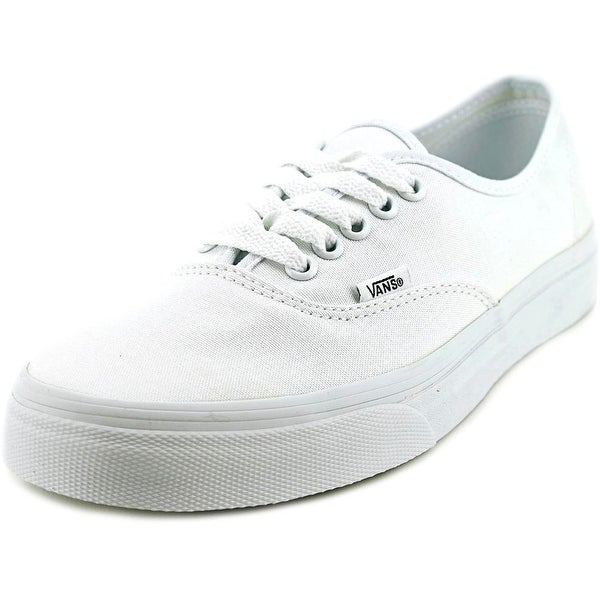 Vans Authentic Women Round Toe Canvas White Skate Shoe