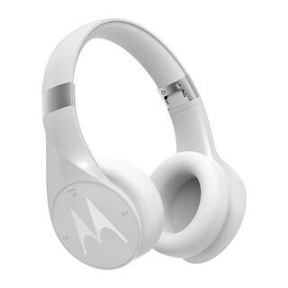 Motorola Pulse Escape+ Water Resistant Wireless Over-Ear Headphones - White