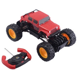 Costway Monster Truck Remote Control Off-Road Car 4 Wheel Drive