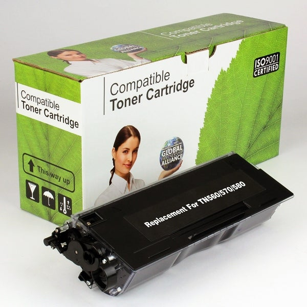 Value Brand replacement for Brother TN560 TN570 TN580 Toner (7,000 Yield)