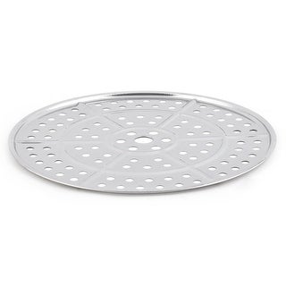 Dormitory Stainless Steel Round Design Food Meat Heating Steamer Rack Plate