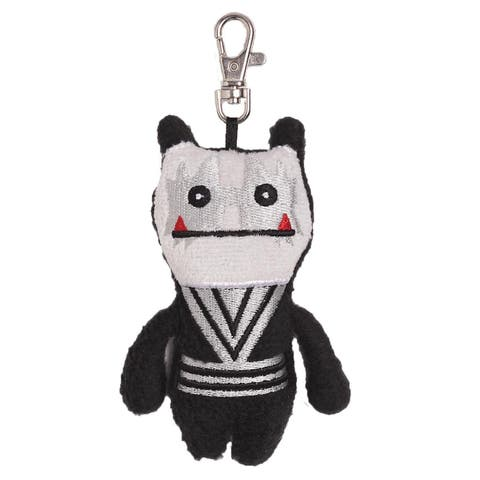 """Ugly Dolls KISS 4"""" Plush Clip-On: Wage Spaceman - multi"""