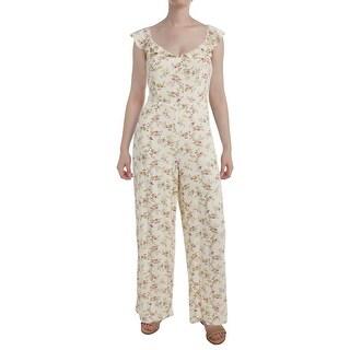 Denim & Supply Ralph Lauren Womens Jumpsuit Modal Floral Print (More options available)