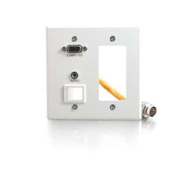 C2G 60057 RR AL DG WP HD15 3.5 KS White