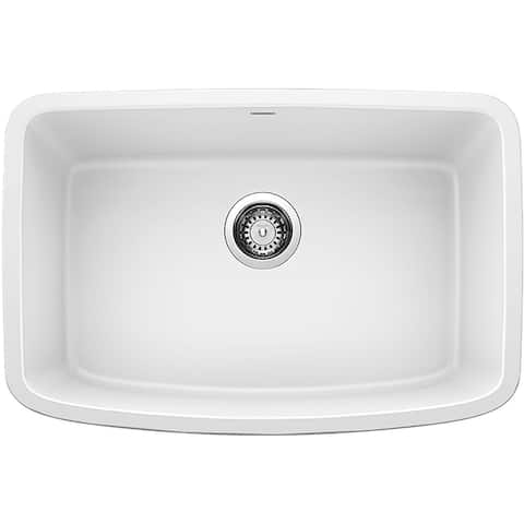 "Blanco 442551 Valea 27"" Undermount Single Basin SILGRANIT Kitchen Sink"