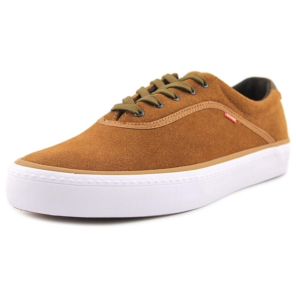 Globe Sprout Men Round Toe Suede Brown Skate Shoe