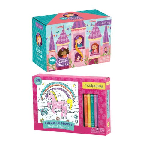 Mudpuppy Princess and Magical Uniform Puzzle Set