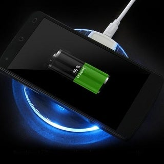 LED Wireless Charging Pad for Samsung Phones