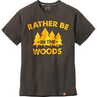 Legendary Whitetails Men's Rather Be In The Woods Short Sleeve Tee