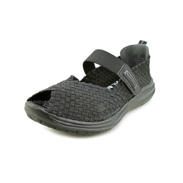 Cobb Hill Wink Women Open-Toe Synthetic Black Sport Sandal