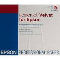 Epson Somerset Velvet Fine Art Paper, White Somerset Velvet Fine Art Paper