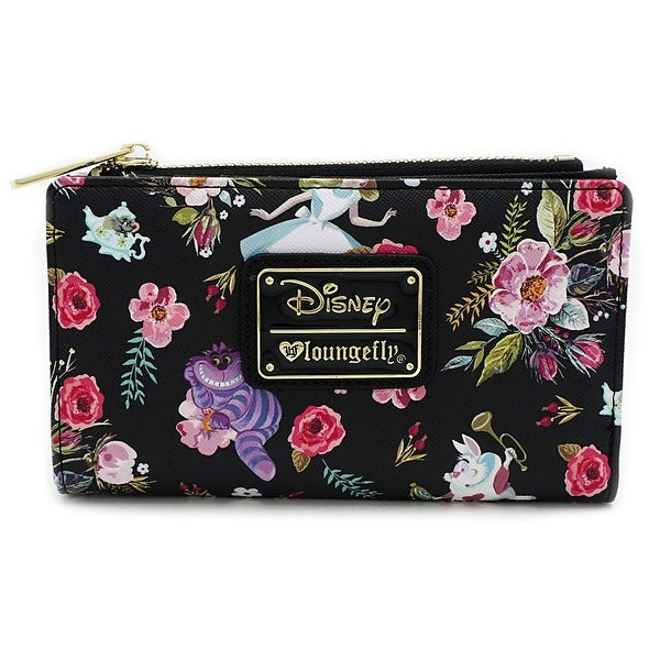 Loungefly X Disney Alice In Wonderland Floral Print Wallet - One Size Fits most