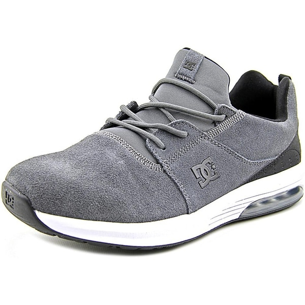 DC Shoes Heathrow IA Men Round Toe Suede Black Skate Shoe
