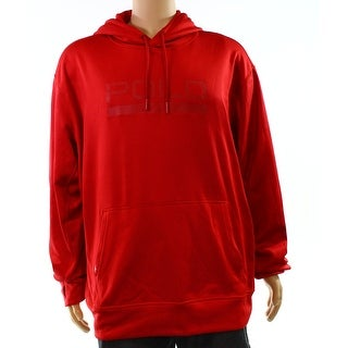 Polo Ralph Lauren NEW Red Men Size 2XL Tech Fleece Peformance Sweatshirt