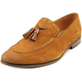 Steve Madden Taflan Men Apron Toe Leather Brown Loafer