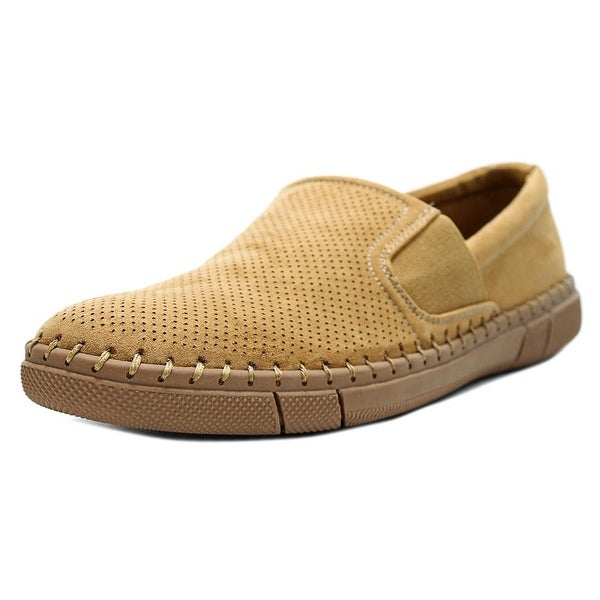 Robert Wayne Road Men Round Toe Suede Loafer