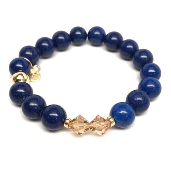 """Blue Jade Paris 7"""" Bracelet"""