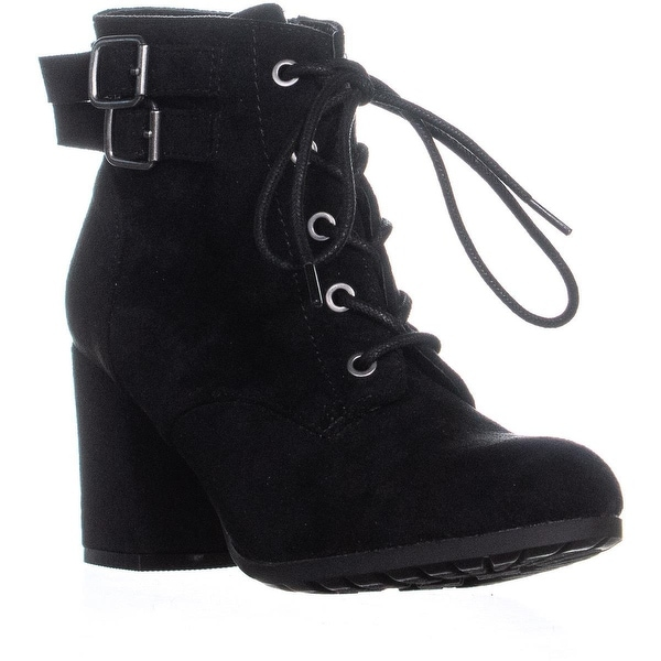 2f9d89473470 Shop madden girl Theoo Front Laced High Ankle Boots