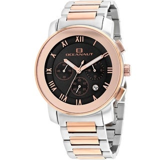 Oceanaut Men's Riviera OC0336 Black Dial Watch
