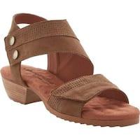 Walking Cradles Women's Calista Heel Sandal Sage Leather