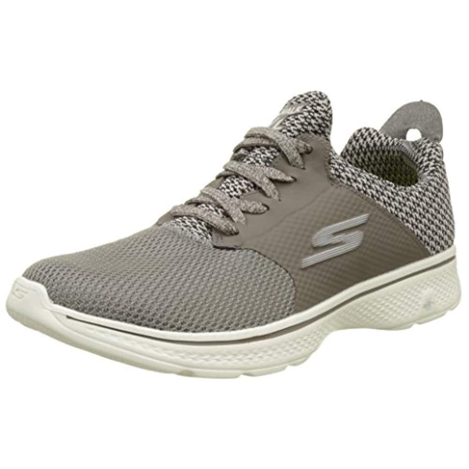 Skechers Mens Gowalk 4 Instinct Taupe Sneaker 14