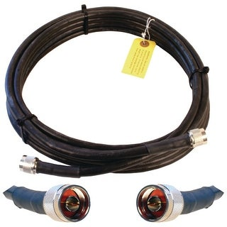 Wilson Electronics 952320 20' Wilson400 N-Male-N-Male Cable - Black