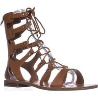G GUESS Hopey Gladiator Sandals, Light Natural