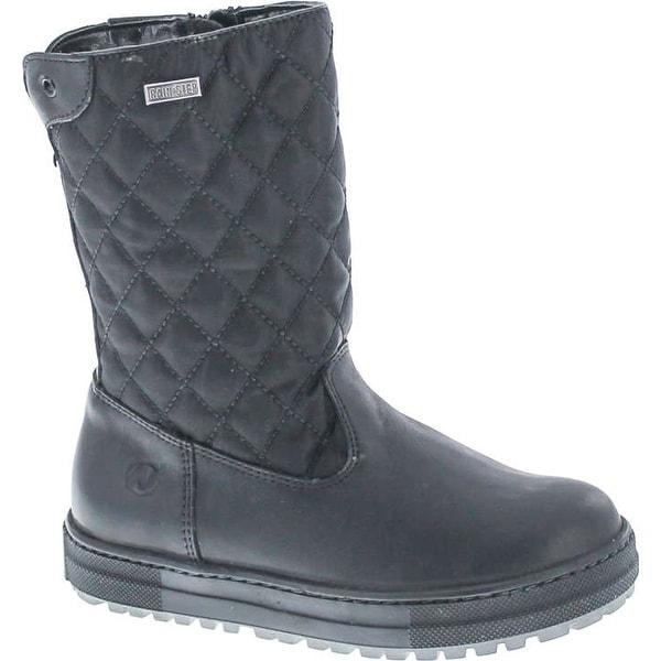 Naturino Girls Quilt Rain Step Waterproof Winter Fashion Boots
