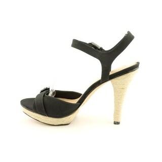 Via Spiga Cain Ankle-Strap Sandals - Black