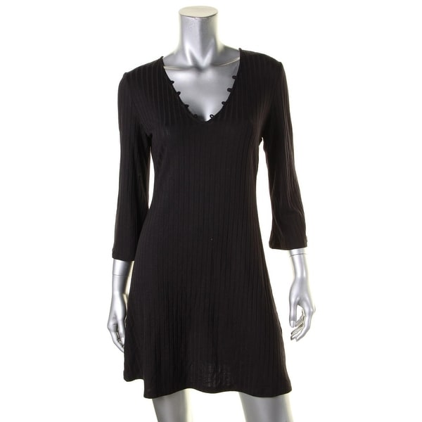 Kensie Womens Cocktail Dress Lace Up Mini Free Shipping On Orders